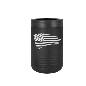 Tattered Flag Polar Camel Koozie