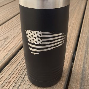 Tattered Flag Polar Camel Tumbler 20oz